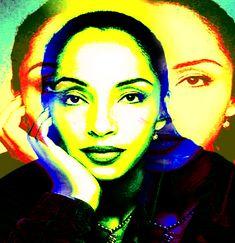 "SADE | Bey Sings the Blues"" and ""Sade Adu"" – Paintings by DJ ..."