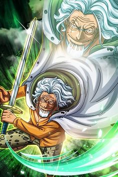 'Silver Rayleigh - One Piece' Poster by One-D One Piece Manga, One Piece Top, One Piece Drawing, One Piece World, Corpse Party, Silver Rayleigh Wallpaper, Tatuagem One Piece, Brooks One Piece, One Piece Tattoos