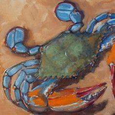 Rick Nilson Original art paintings gallery by NC artist Rick Nilson - DailyPainters.com Art Painting Gallery, Artist Gallery, Art Paintings, Crab Painting, Louisiana Art, Dashboard Design, 3 Arts, Chalkboard Art, Sea Creatures
