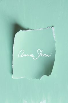 An icy minty green paint colour mix using equal parts of Antibes Green, Florence and lots of Pure white by Annie Sloan