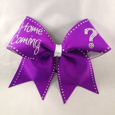 Home Coming Cheerleading Bow
