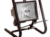 PRZENOSNA LAMPA HALOGENOWA: Lampa halogenowa AS46560 marki AS Schwabe nadaje się do domu, na budowę albo do warsztatu.