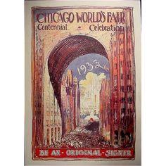Alternate Chicagos World Fair Poster