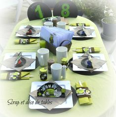 Scrap Et Deco De Tables