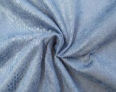 Suedine snake old-blue