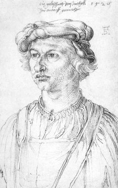 """Albrecht Dürer: """"Porträt eines Goldschmiedes aus Mecheln,""""1520."""