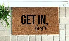 Welcome Quotes, Funny Welcome Mat, Welcome Mats, Front Door Mats, Front Door Decor, Cute Door Mats, Front Porch, Fall Doormat, Coir Doormat