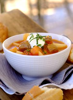 Rich Beef Goulash Soup #KnorrStockPot