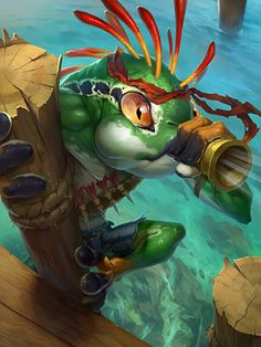 #hearthstone #warcraft #murloc