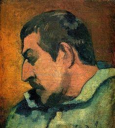 Paul Gaugain,self portrait.