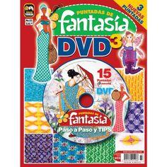 Puntadas de Fantasía DVD 03 - Puntadas de Fantasía paso a paso