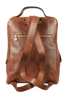 Leather Backpack for Men, Personalized Gift, Brown Laptop Backpack, Leather Rucksack, Gift for Him - The Sun Also Rises Leather Backpack For Men, Leather Men, Brown Leather, Leather Bags, The Sun Also Rises, Brown Backpacks, Laptop Backpack, Fast Fashion, Gifts For Him