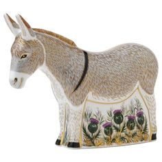 Royal Crown Derby paperweight - Donkey