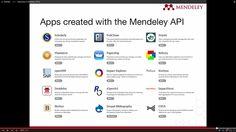 """MechTech on Twitter: """"Mendeley - API http://t.co/6Q7ZjhFwMe"""""""