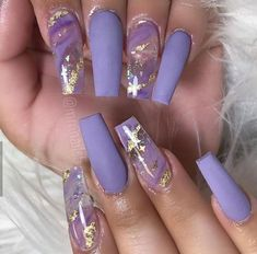 Easy Halloween Nail Art Ideas for Teens lila Halloween-Nagelkunst Purple Acrylic Nails, Summer Acrylic Nails, Best Acrylic Nails, Summer Nails, Purple Nail Art, Violet Nails, Winter Nails, Pink Nails, Blush Nails