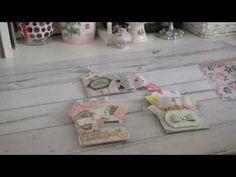 Cute Mini Loaded Pockets using Mini Albums Scrap, Mini Scrapbook Albums, Envelope Punch Board, Pocket Envelopes, Chicken Scratch Embroidery, Mini Album Tutorial, Card Making Tips, Scrapbooking, Mini Albums
