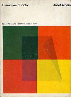 Interaction of Colour, Josef Albers. Book Cover - Design
