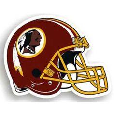 Washington Redskins NFL 12 Car Magnet