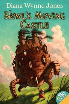 Howl's Moving Castle - Dianne Wynne Jones. I read this book a few weeks ago and fell in love.  It remains one of the funniest and most wonderful fantasy books I've read.