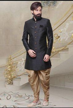 Indian pakistani mens wedding silk plain sherwani traditional indo western dhoti #Handmade #sherwanisuit #love #applewatch #applelover #black #blackshades #blackoutfit #redlips #redhot #zaraoutfit #zara #beauty #jumpsuit #portraitmood #portraitphotography #portrait #closeup #fashionblogger #style #luxurylife #fashioninsta #icon
