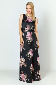 Tara Maxi Dress - Floral - P.S. Frocks