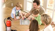 Learn #firesafety with Kidde - National fire prevention month is October - learn the basics with your family.