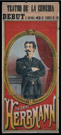 [Debut del Gran Herrmann]. Teatro de la Comedia (Madrid) — Dibujos, grabados y fotografías — 1885 http://bdh-rd.bne.es/viewer.vm?id=0000032908