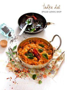 Plateful: Tadka Dal — Spiced Indian Lentils