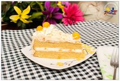 Pinay In Texas Cooking Corner: Mango Cake with Mango Cream Frosting
