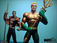 https://flic.kr/p/Fo6XxV | Who is the king? Namor and Aquaman