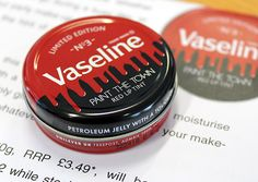 Vaseline Lip Therapy Red Lip Balm