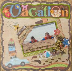 pinterestscrapbooking | Vacation - Scrapbook.com