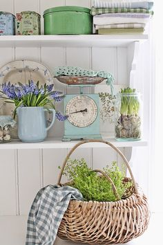 VIBEKE DESIGN: In a green and blue world ....