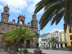 Santa Ana #Cathedral, Las Palmas, #Gran #Canaria Canario, Canary Islands, Capital City, Taking Pictures, Places Ive Been, Cathedral, Travel Destinations, Spain, Santa