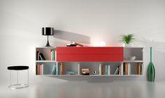 Mueble de diseño para el hogar u oficina formado por distintos bloques. Contamos con variedad de colores combinables Tenemos un showroom para que puedas ver todos nuestros productos También realizamos envíos a Capital Federal y Provincia de Buenos Aires.