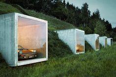 simplicity love: Garage studio, Switzerland | Peter Kunz Architektur