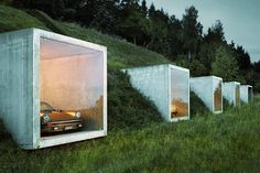 simplicity love: Garage studio, Switzerland | Peter Kunz Architektur