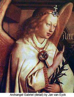 Shop Jan van Eyck Angel, Genter Altar Fine Vintage Postcard created by _angels. Jan Van Eyck, Ghent Altarpiece, Celine, Art Through The Ages, San Gabriel, Art Van, Angels Among Us, Dutch Painters, European Paintings