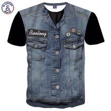 US $9.12 Mr.1991INC Newest Hip Hop T-shirt Men/women Tees Shirts 3d T-shirt Print Fake Jeans Tops Hipster Tshirts Plus 3XL 4XL. Aliexpress product