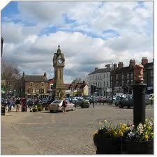 Thirsk, Yorkshire . . . home of James Herriott.