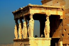 The Porch of the Maidens, Erechtheion, the Acropolis, Athens