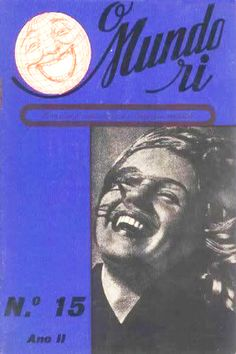 1950: O Mundo Ri (Portugal) magazine cover of Marilyn Monroe  .... #normajeane #vintagemagazine #pinup #iconic #raremagazine #magazinecover #hollywoodactress #monroe #marilyn #1950s