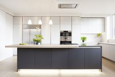 kitchens with shelves no wall units - Google Search