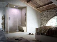 Bagno in camera - Box doccia con bagno turco