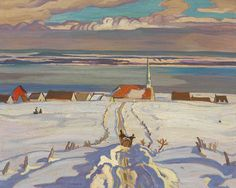 Painting Canada: Tom Thomson and the Group of Seven - Images and Video Winter Landscape, Landscape Art, Landscape Paintings, Landscapes, Art Paintings, Tom Thomson, Canadian Painters, Canadian Artists, Winter Painting