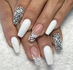 Hate the rest of the nails, LOVE the ring fingers!!!