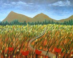 Spirits And Splatters Fall Field painting. Begin the approaching season of fall by coming to an art event.