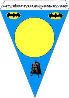 Batman Free Party Printables.