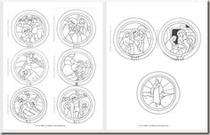 Stations of the Cross circle printables