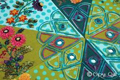 Gipsy Quilt: GIPSY COLORS